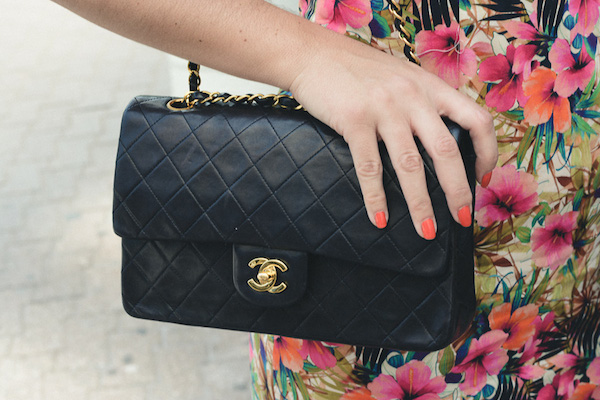 Classic and glam chanel bag