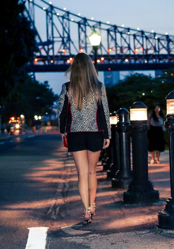 night in nyc stylish summer look