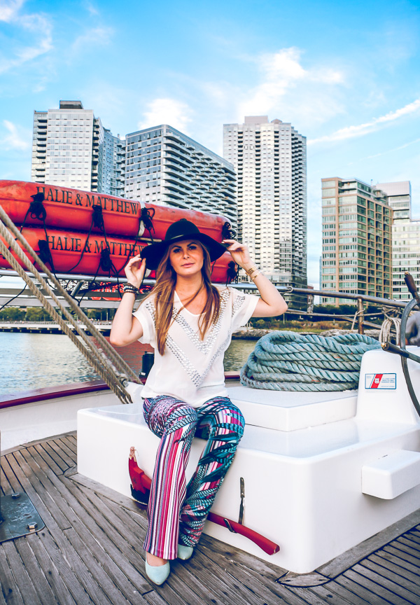 Boho Chic style colorful pants