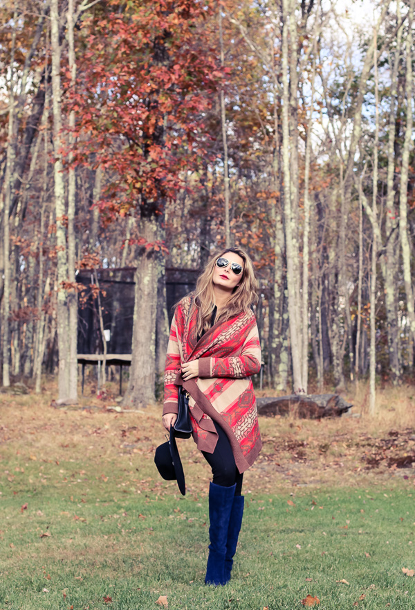 Fall and winter outfit in Catskills, NY