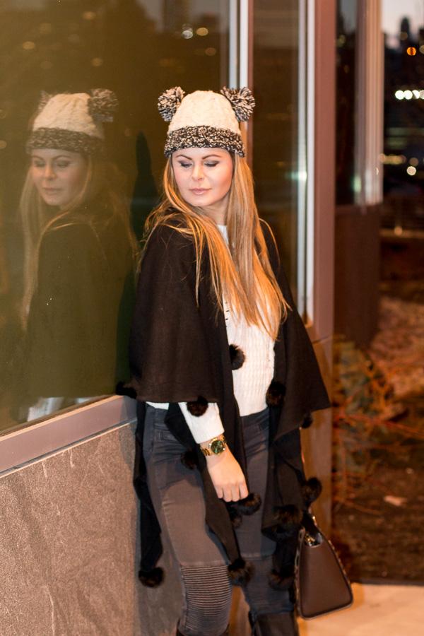winter style cape