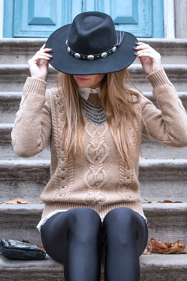 Hat style street chic