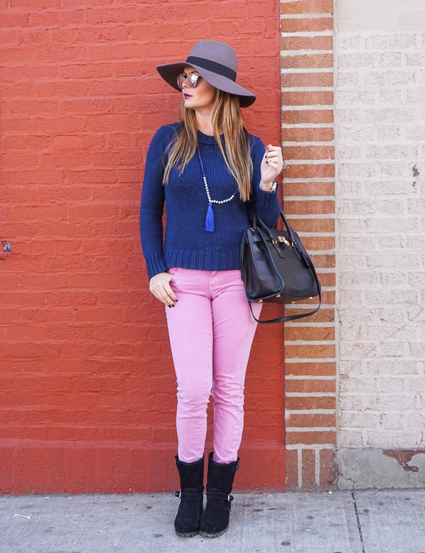 casual outfit with ht and dior shades