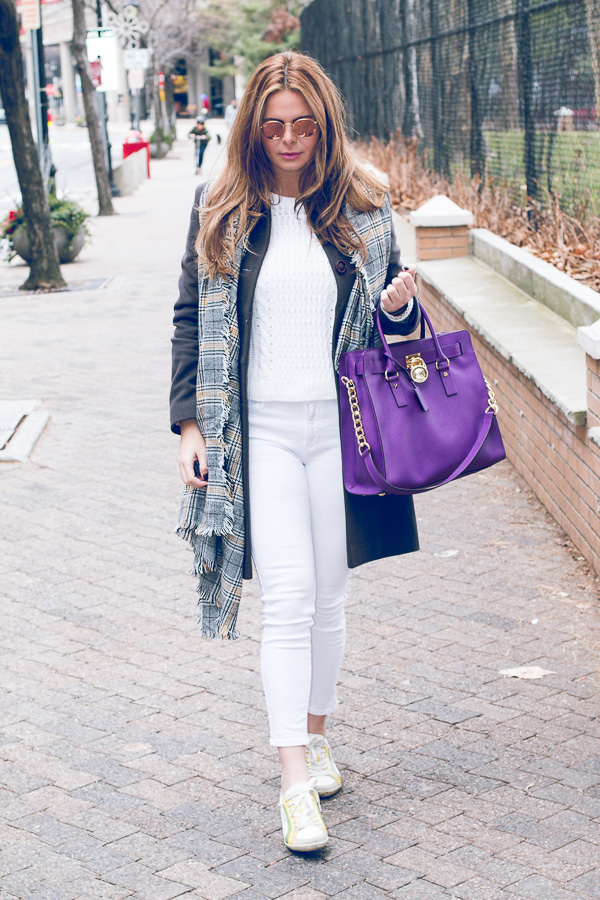 all white casual weekend