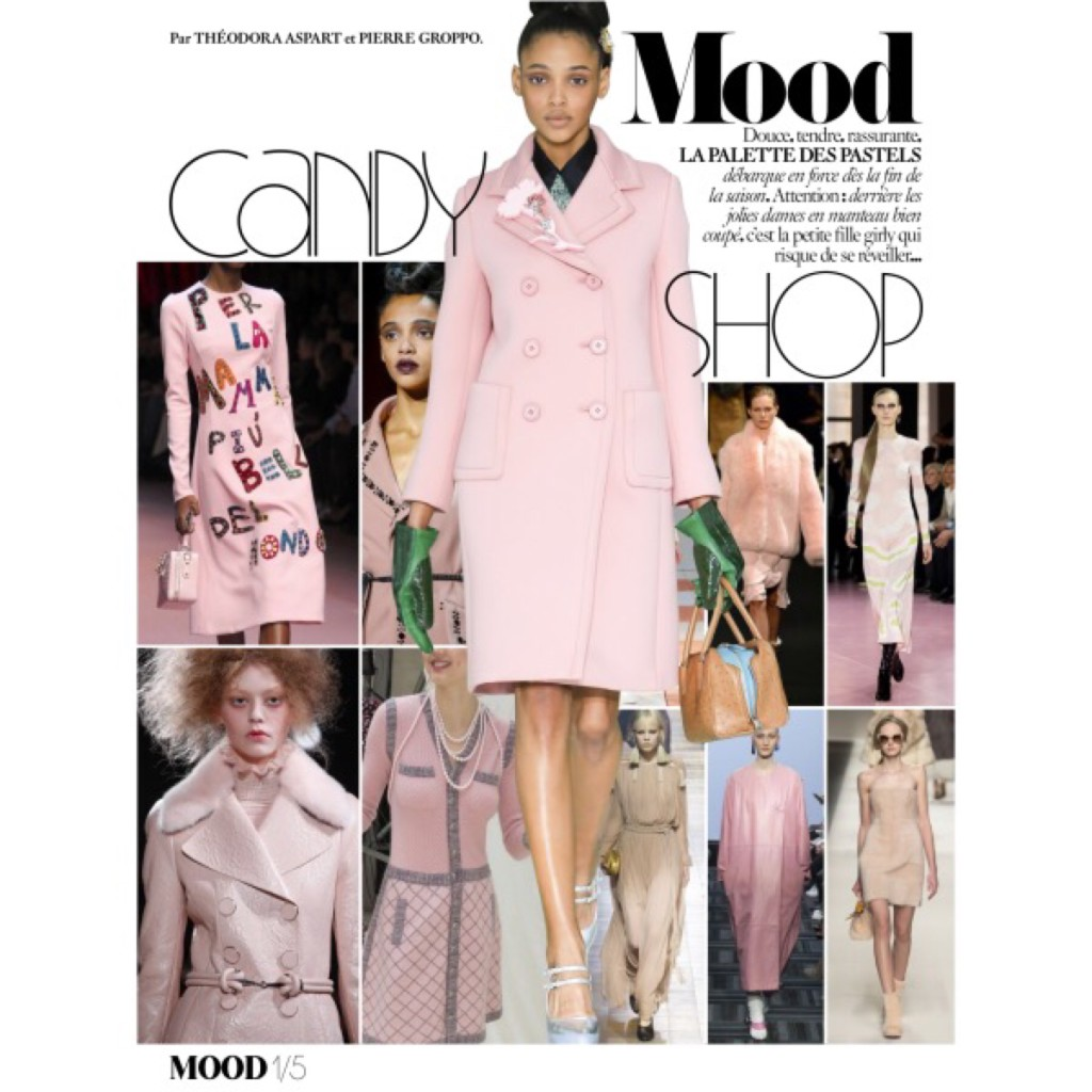 Fall trend 2015 Candy Color