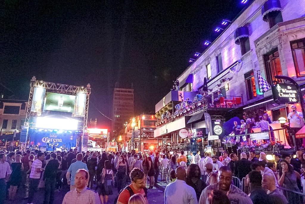 crescent street festival montreal