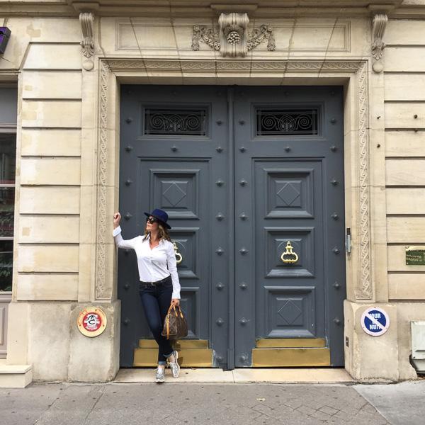 Effortless chic in Paris