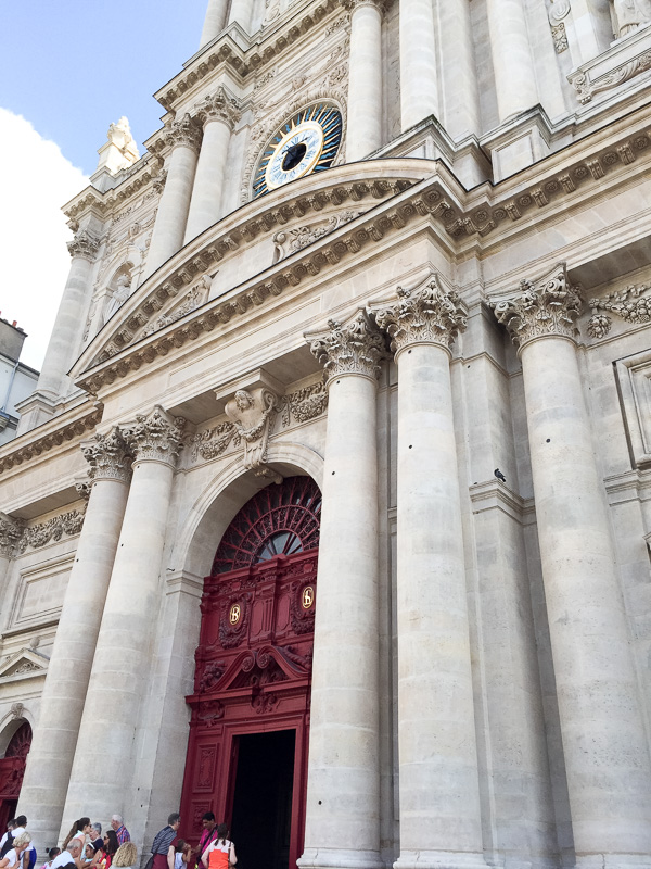 St.Paul and st Louis church Marais