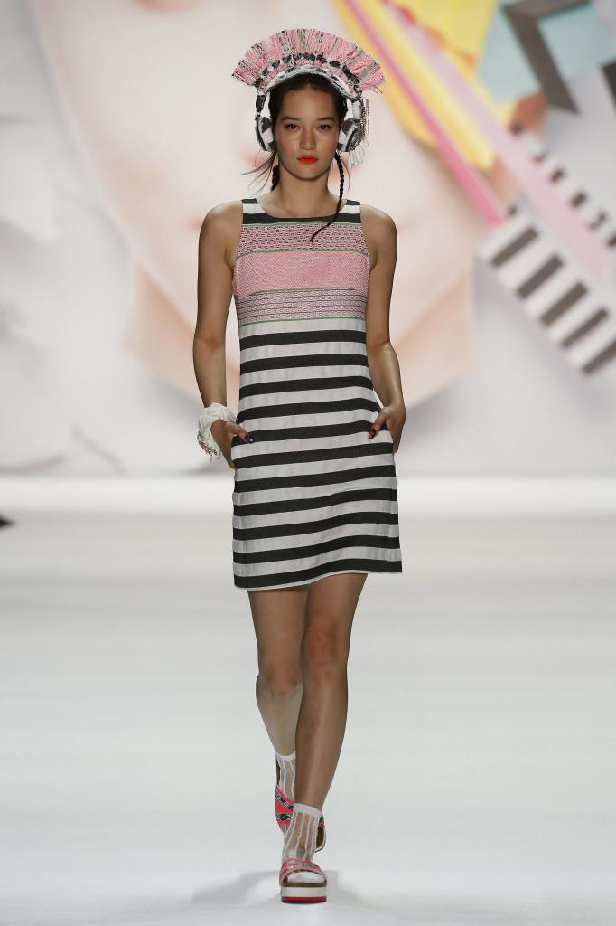NYFW Desigual runway show