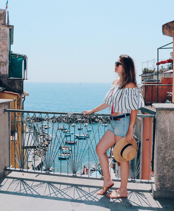 Exploring Riomaggiore in Cinque terre