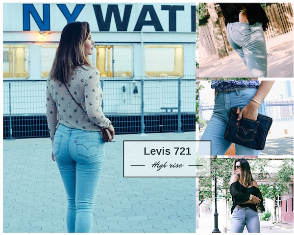 Levis classic high rise skinny jeans