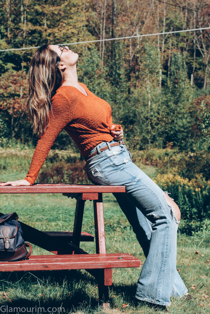 70's style denim