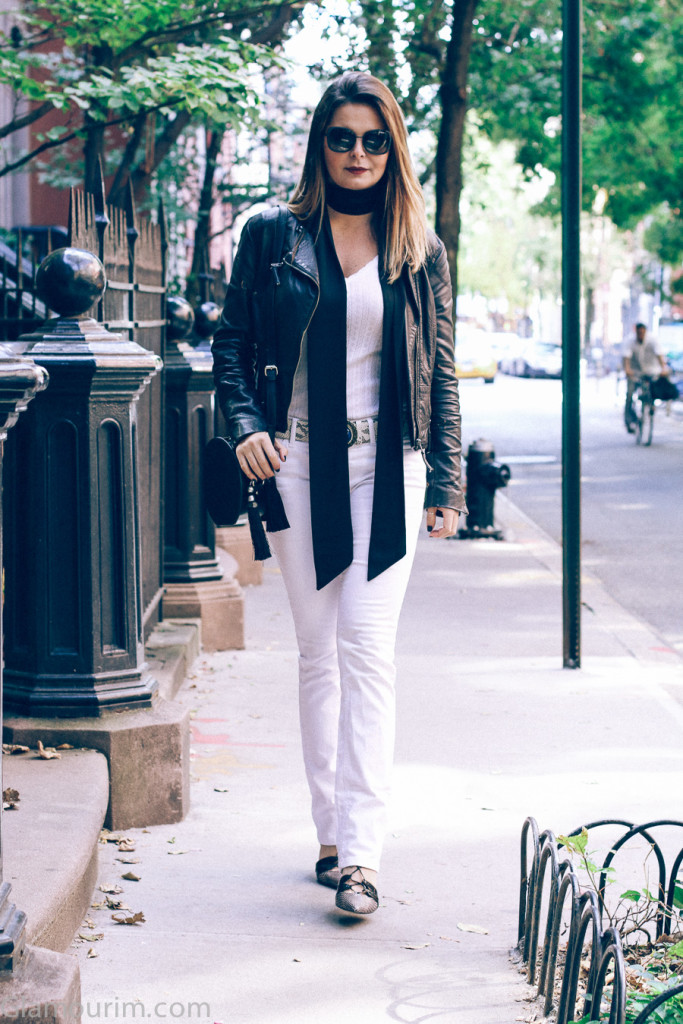 White Denim and Motor jacket