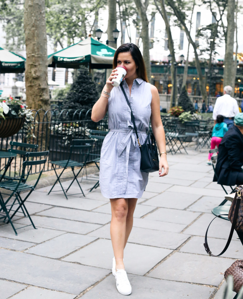 Stylish the shirt-dress