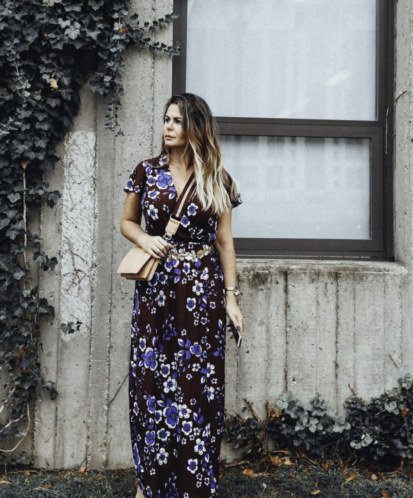 Fall maxi dress