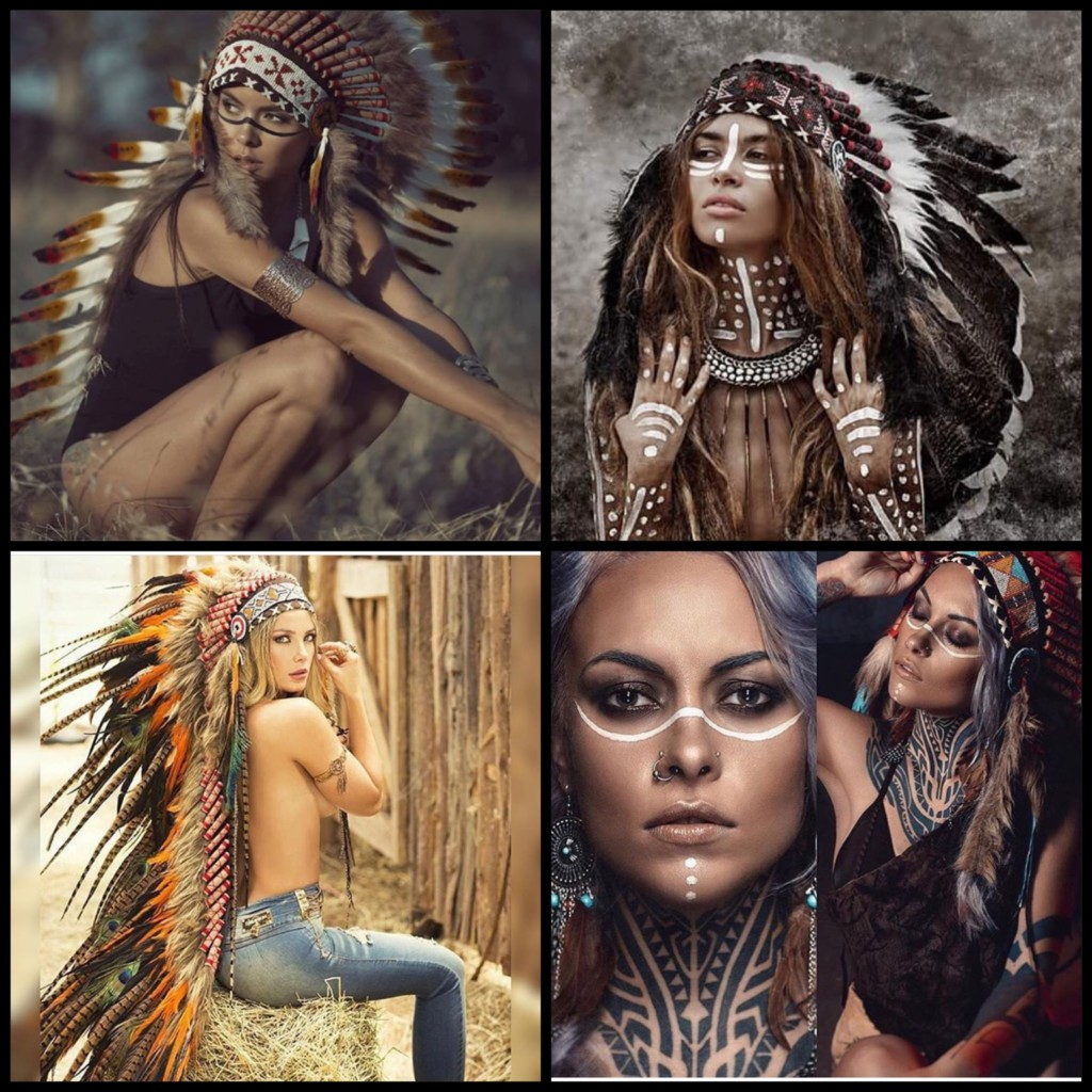 indian headpieces costume