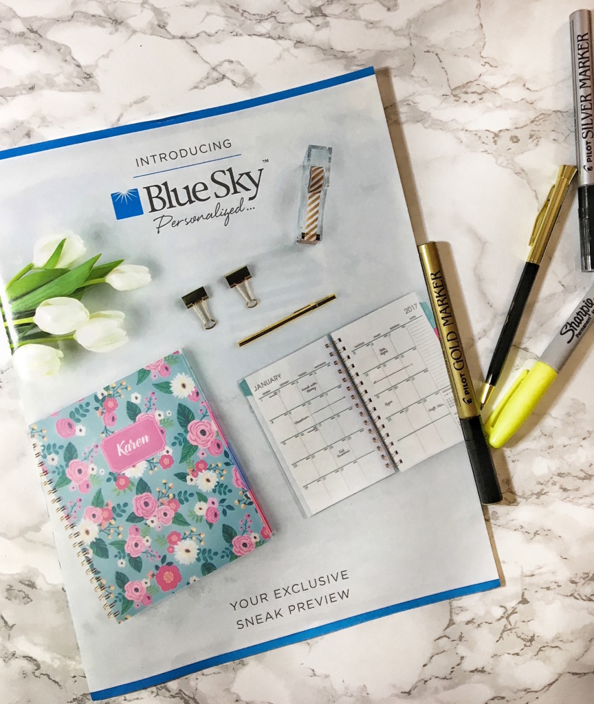 personalized blogger planner