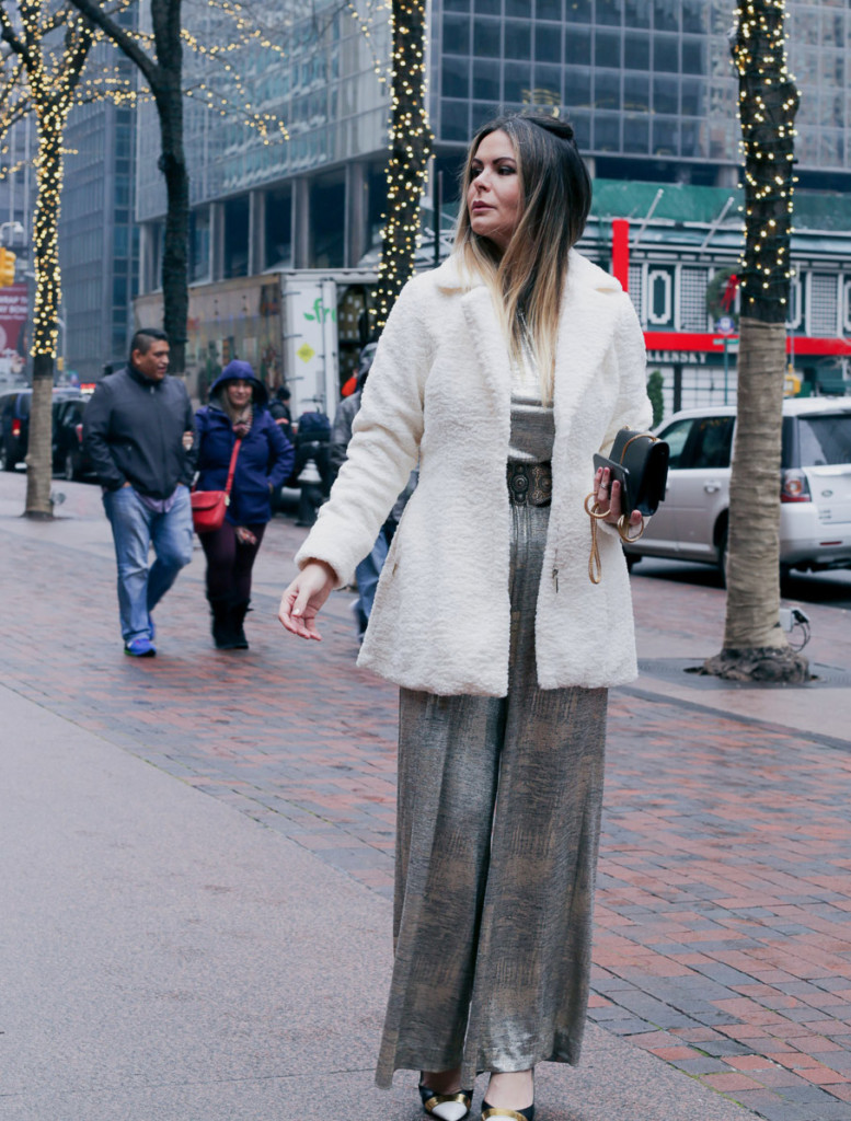 b9d30fddc51b ... blogger wearing white furry coat by coalition LA during winter in NYC Glamourim  lifestyle bloggerfurry coat by coalition LA in NYC. SHOP THE POST