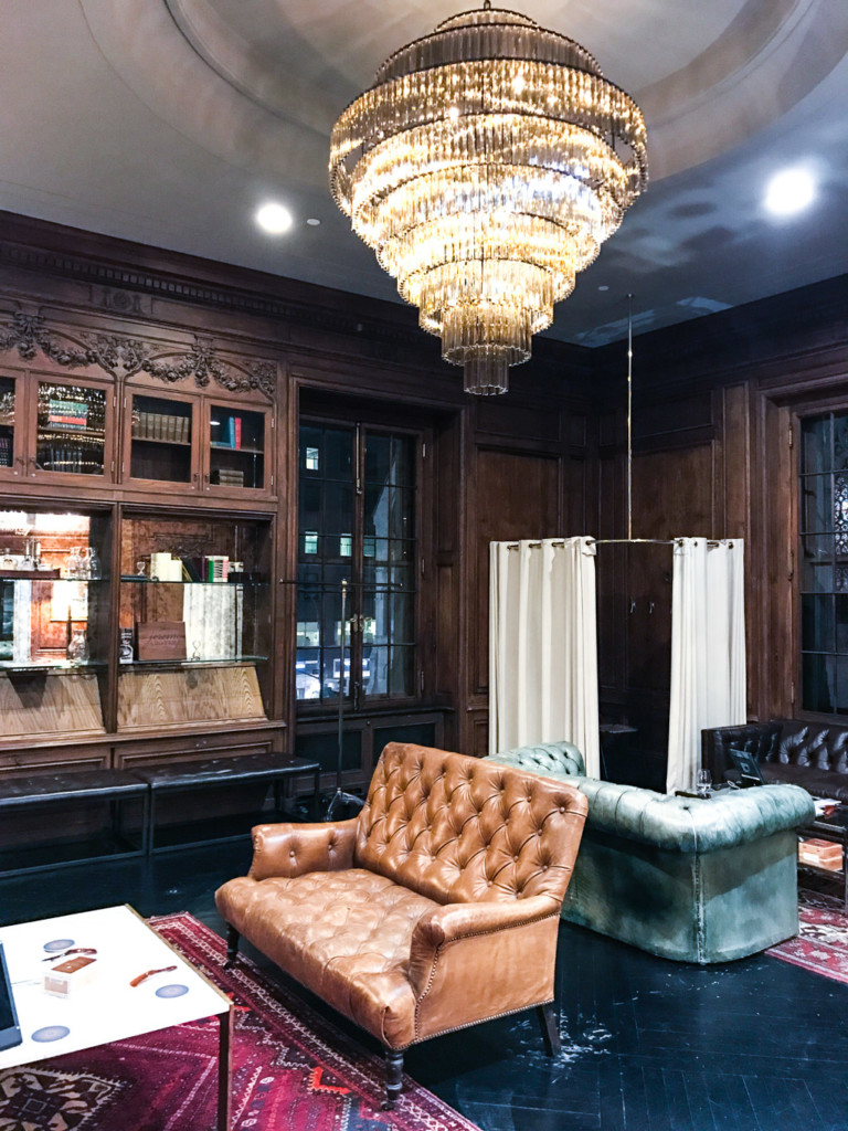 Interior deco at Trunk club NYC by glamourim
