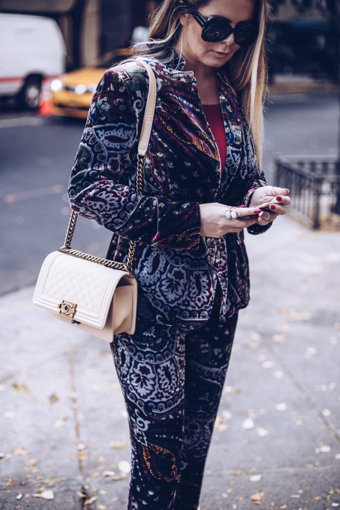 street style velvet and chanel bot by hilma from glmaourim.com