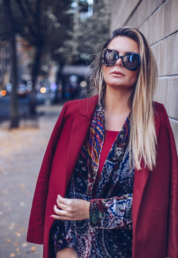 street style rockglam velvet trend 2017 by glamourim.com