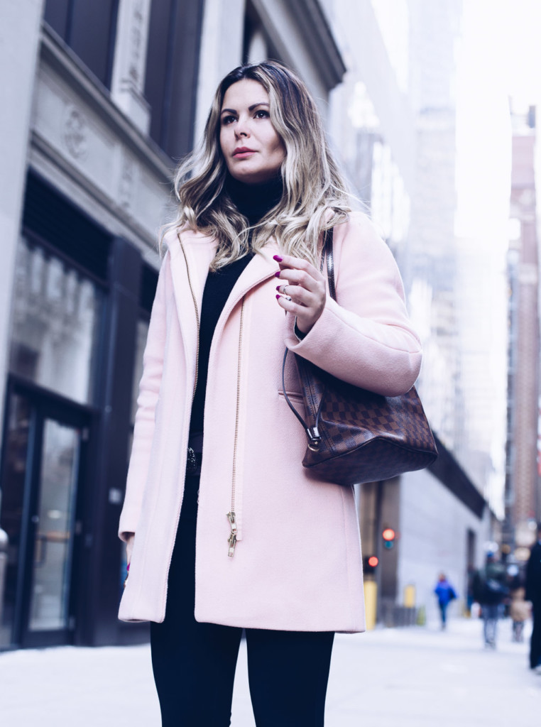 hilma street style classic and timeless j crew cocoon coat