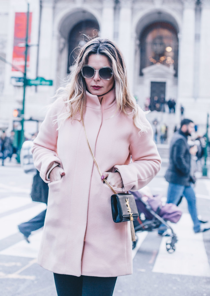 hilma lifestyle blogger pop in pink trend j crew cocoon coat