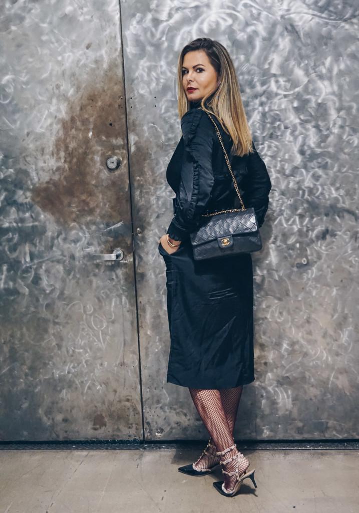 bold ruffle style by glamourim lifestyle blog NYFW