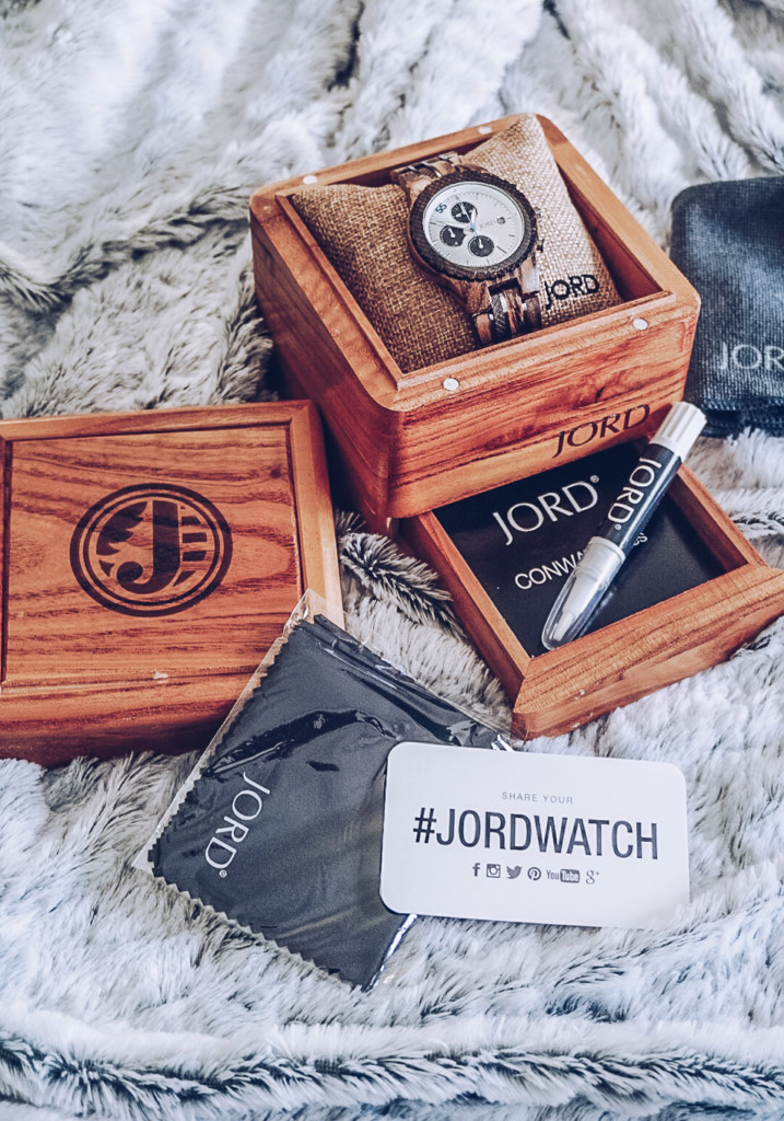 The perfect gift for him or her jord wood watch by glamourim blog