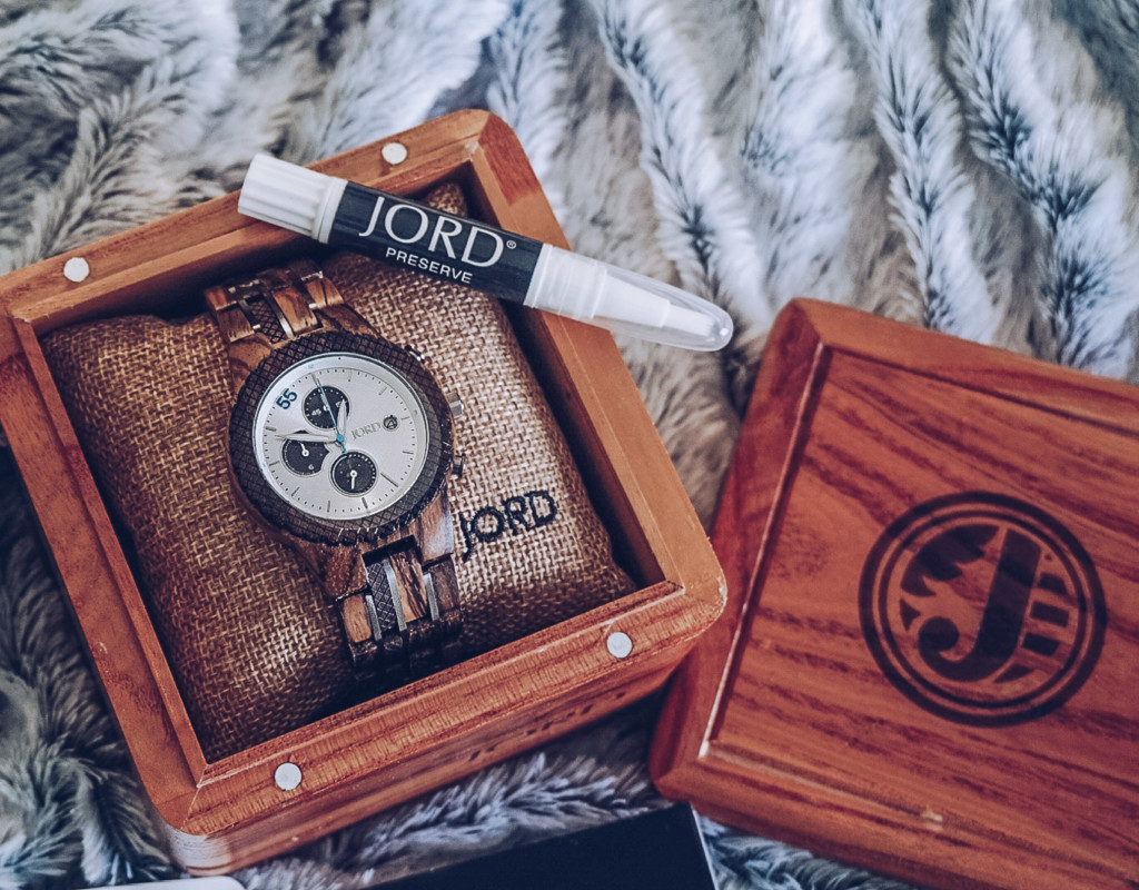 JORD WOOD watch man conway series is the perfect gift for him
