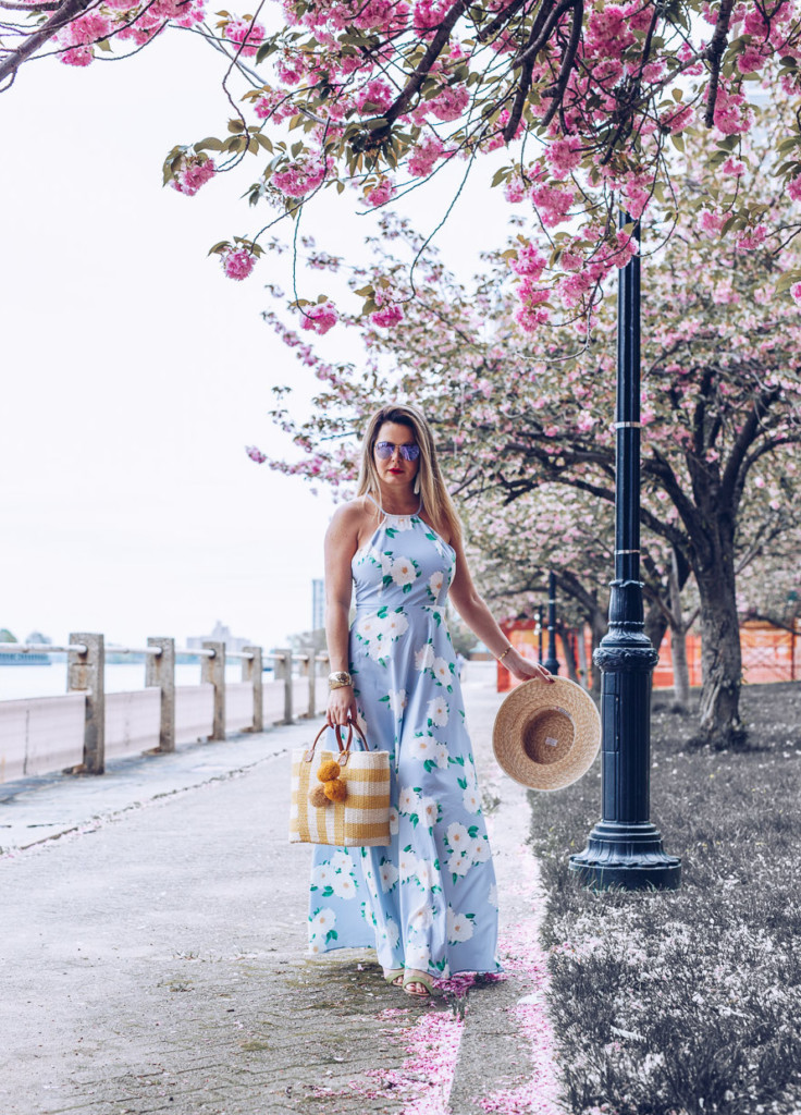 beautifil and affordable pastel colors maxi floral dress for any ocasion by glamourim lifestyle blog