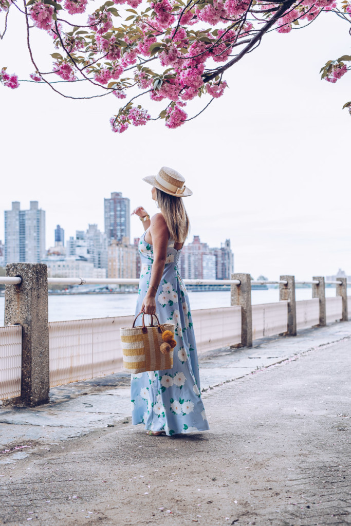spring and summer wedding floral maxi dress by glamourim lifestyle blog